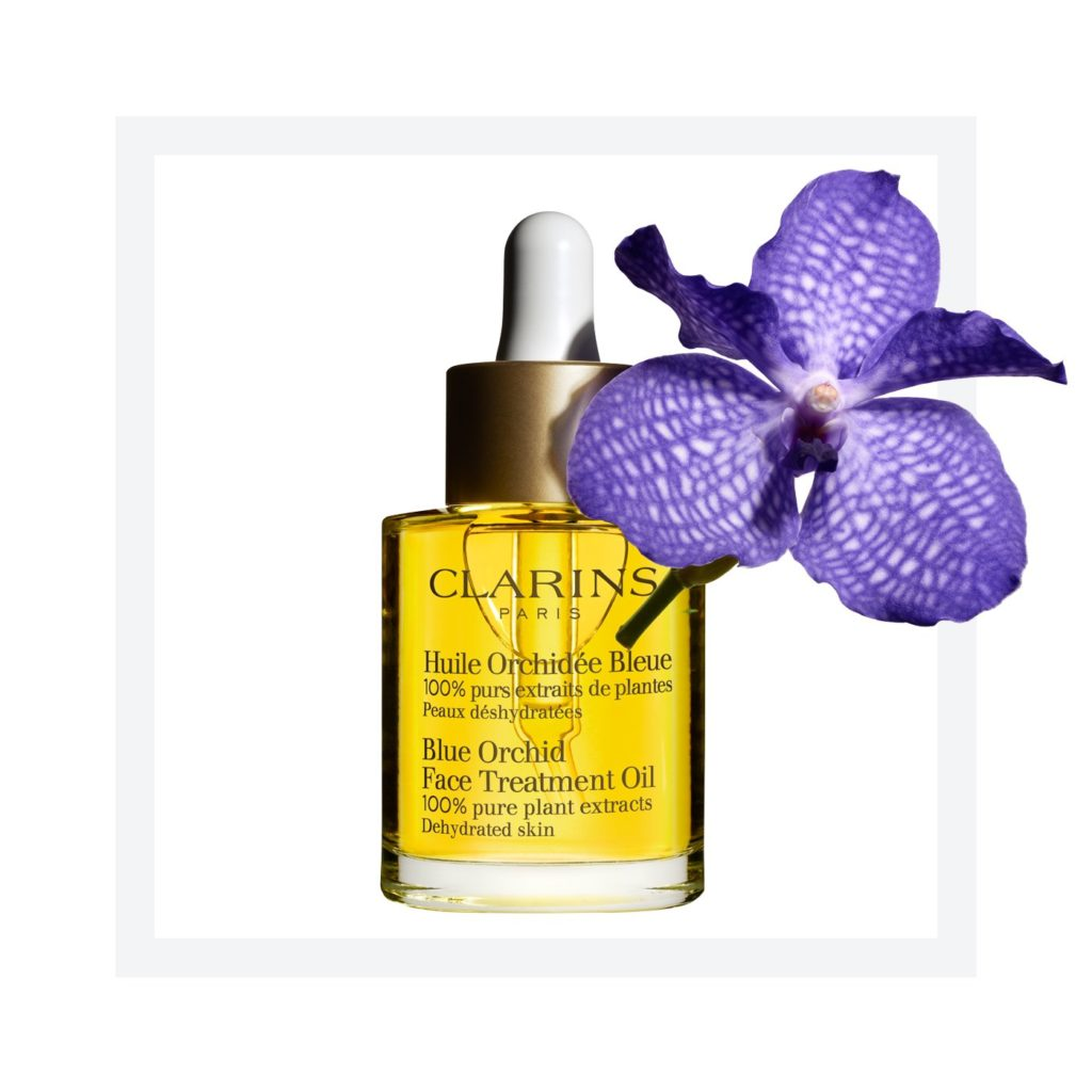 Clarins beauty oil