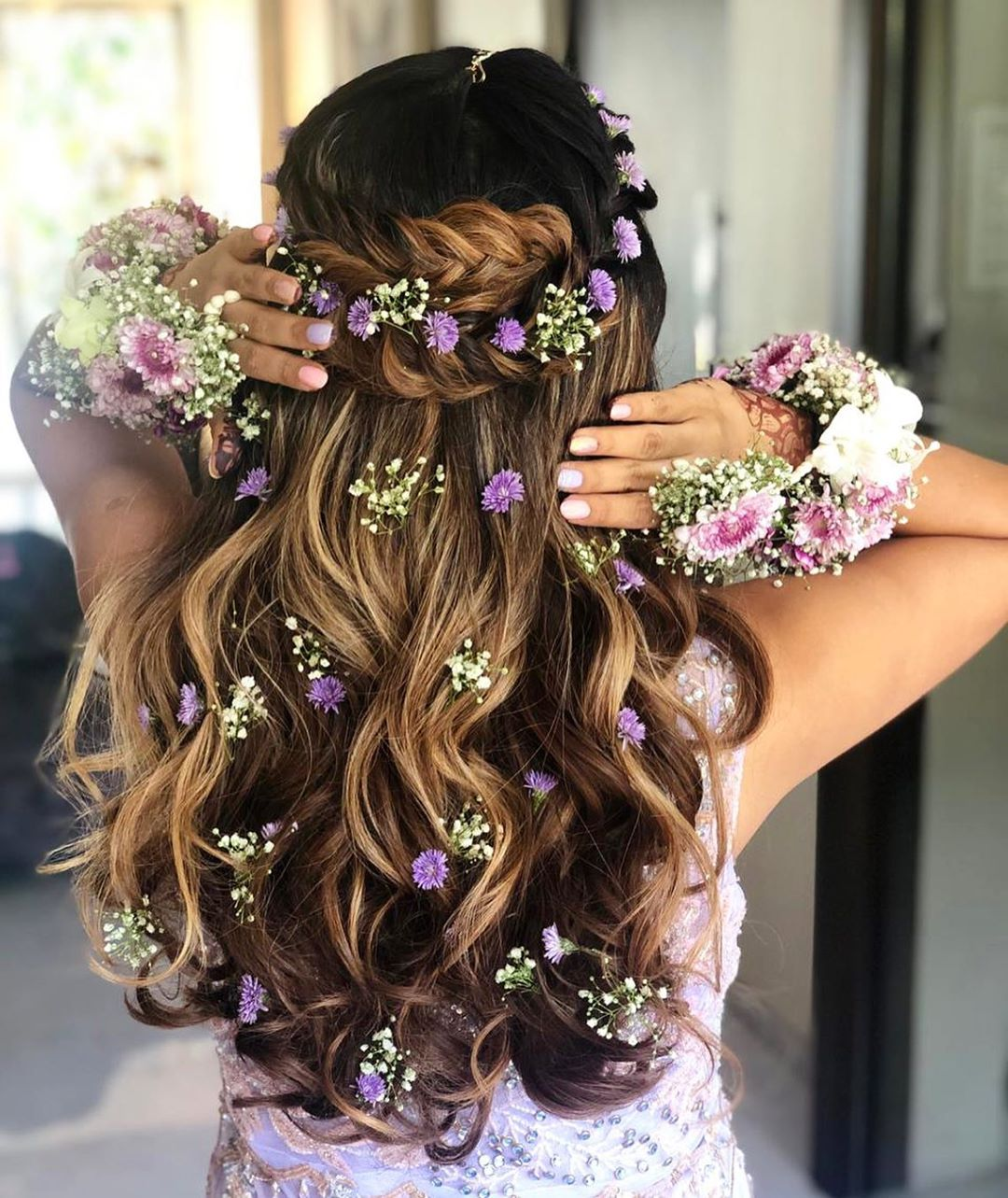 Indian Loose Hair Wedding Hairstyles: These Are The Best Bridal Hairstyles For Indian Brides In 2019