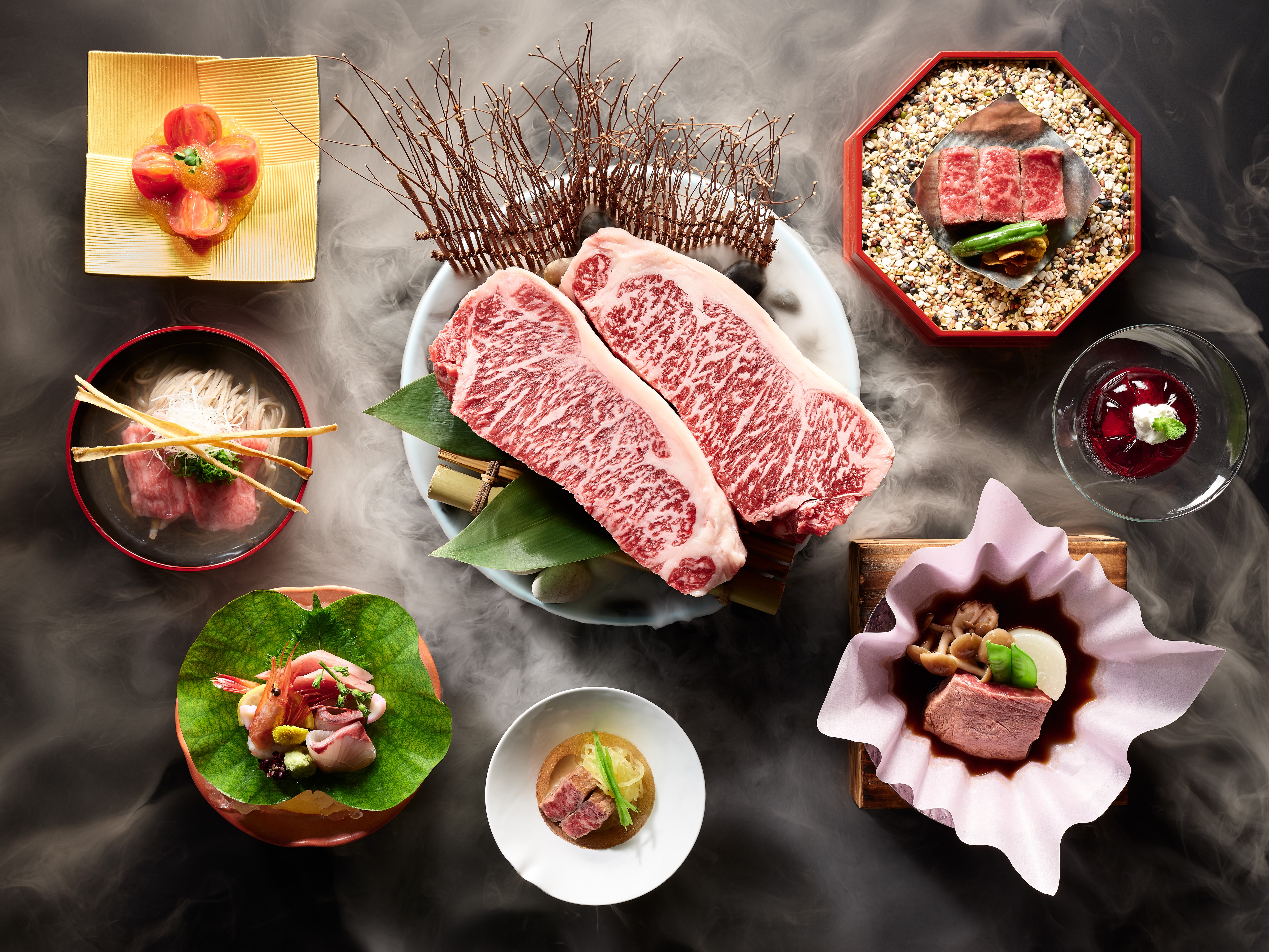 The oldest brand of Wagyu is on the menu at Keyaki