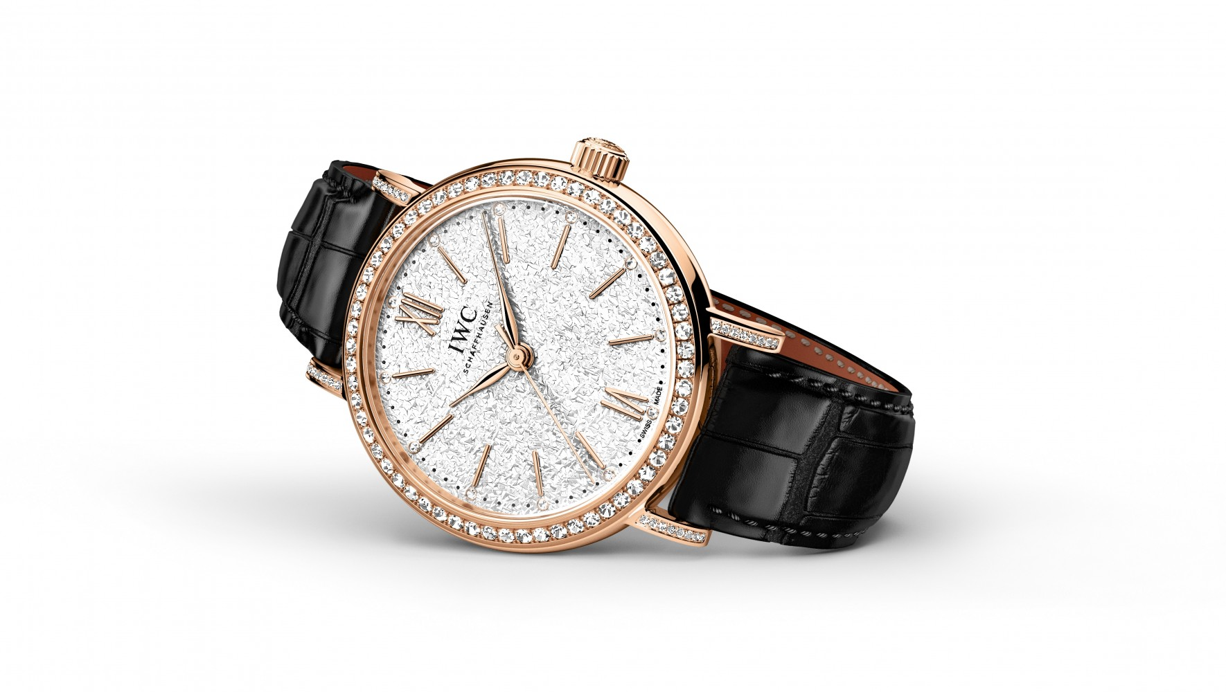 The new IWC Portofino line for women is its own class of elegance