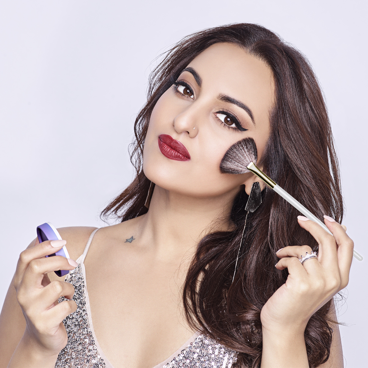 Actor Sonakshi Sinha on her beauty routine & being the face of MyGlamm