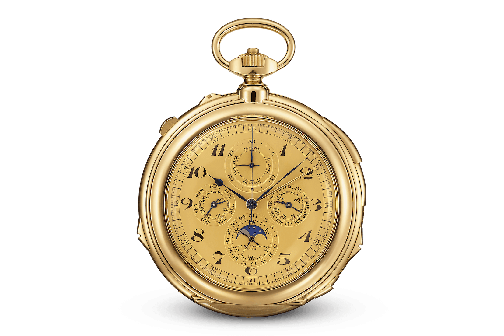 1935 - Delivery of 'The Farouk', one of the most complicated pocketwatches of the 20th century