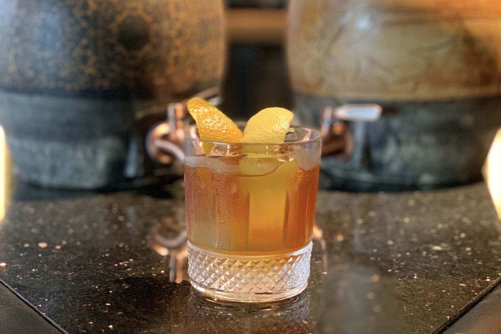 The Clay Pot Old Fashioned