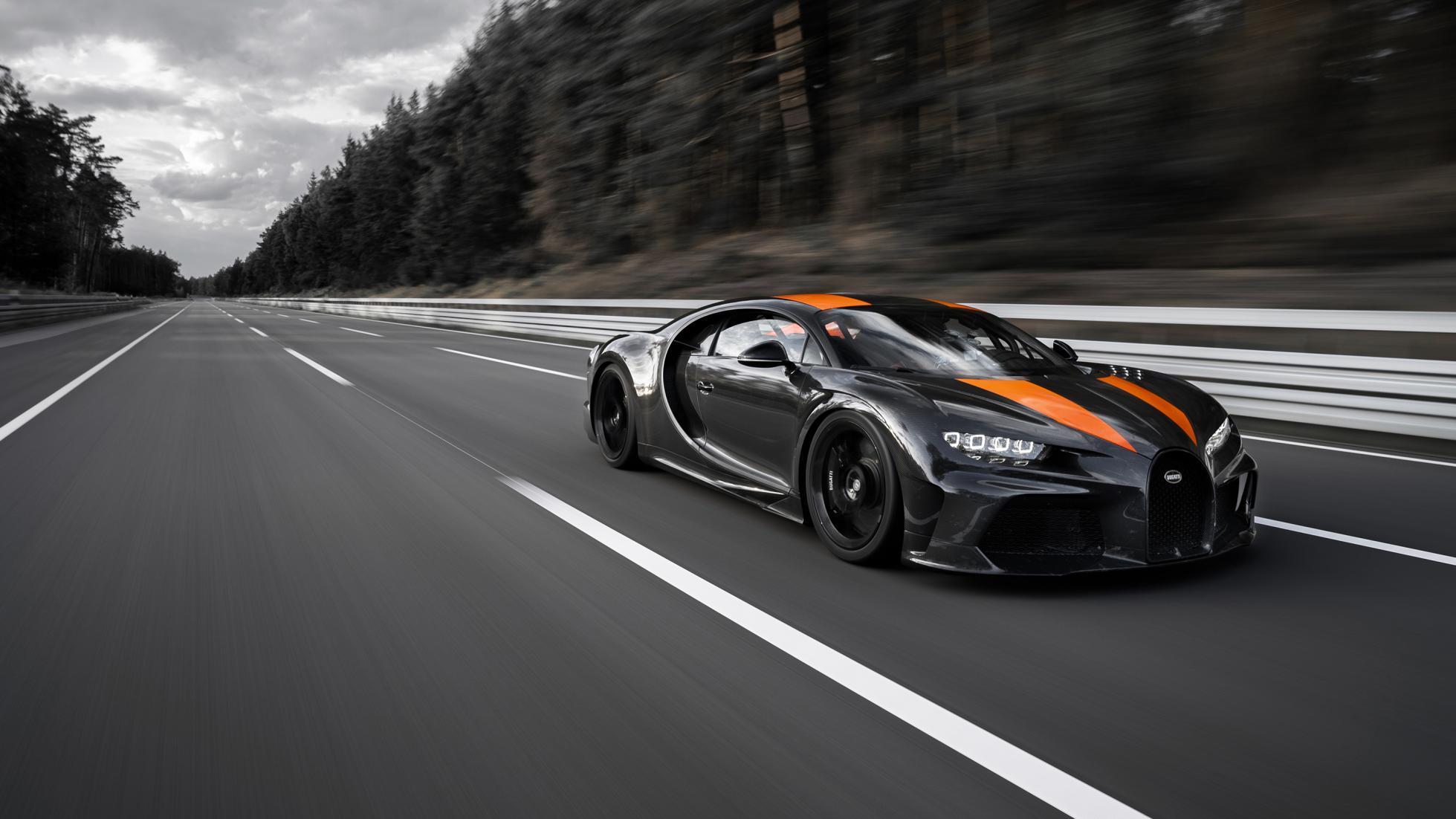 Bugatti breaks the 300mph barrier