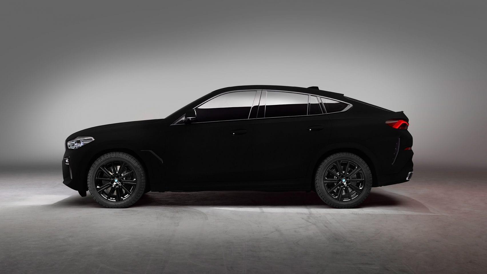 BMW goes blacker than black