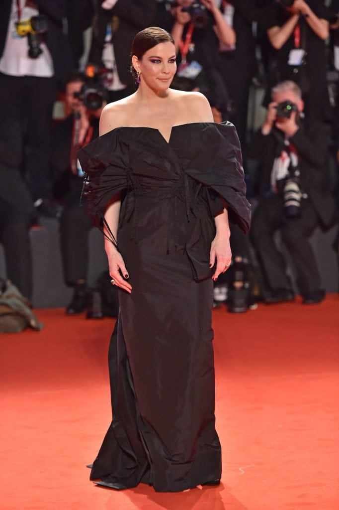 Liv Tyler in Givenchy. Image: Courtesy Getty