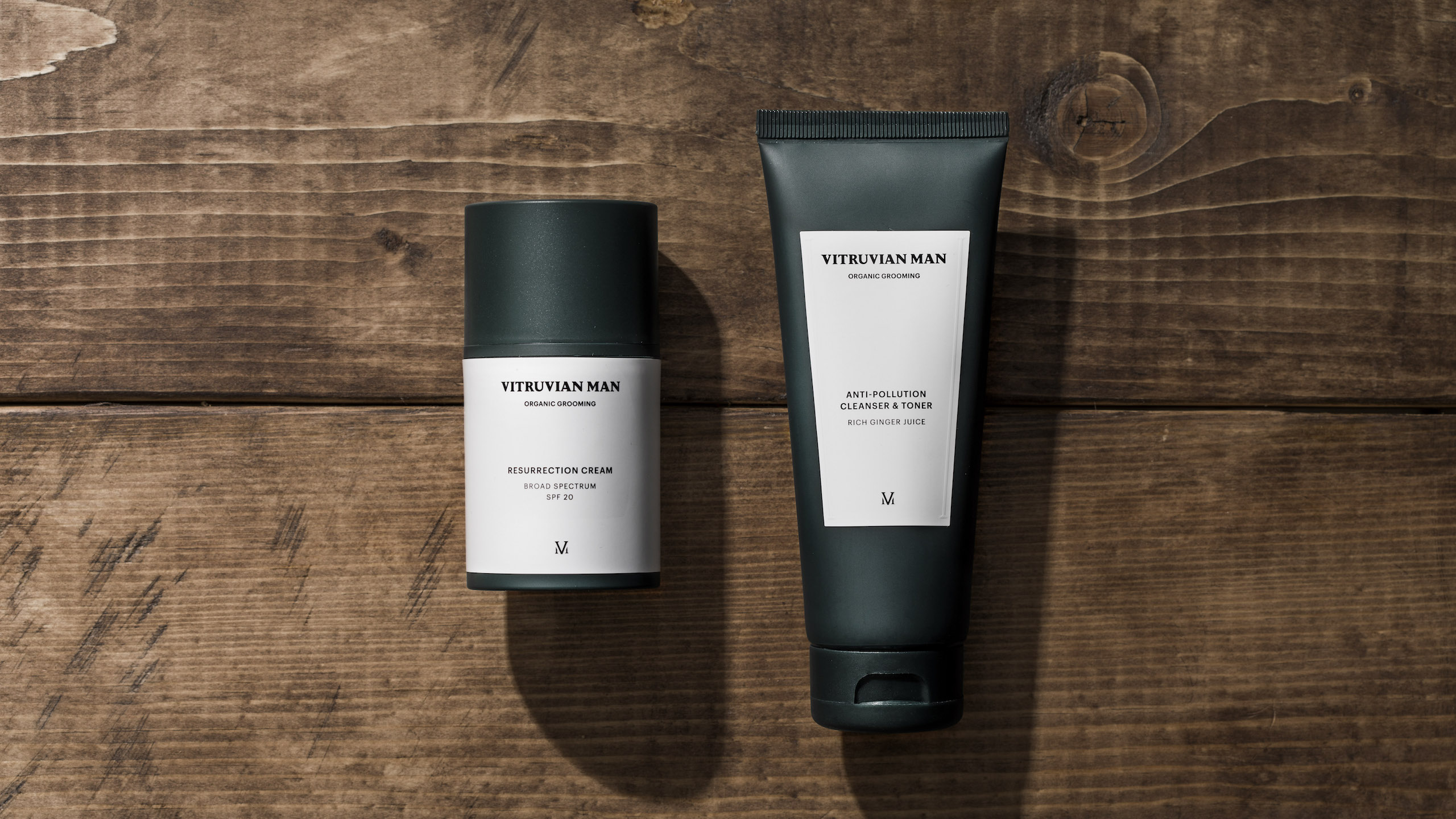 Introducing Vitruvian Man: Organic grooming solutions for the modern gent