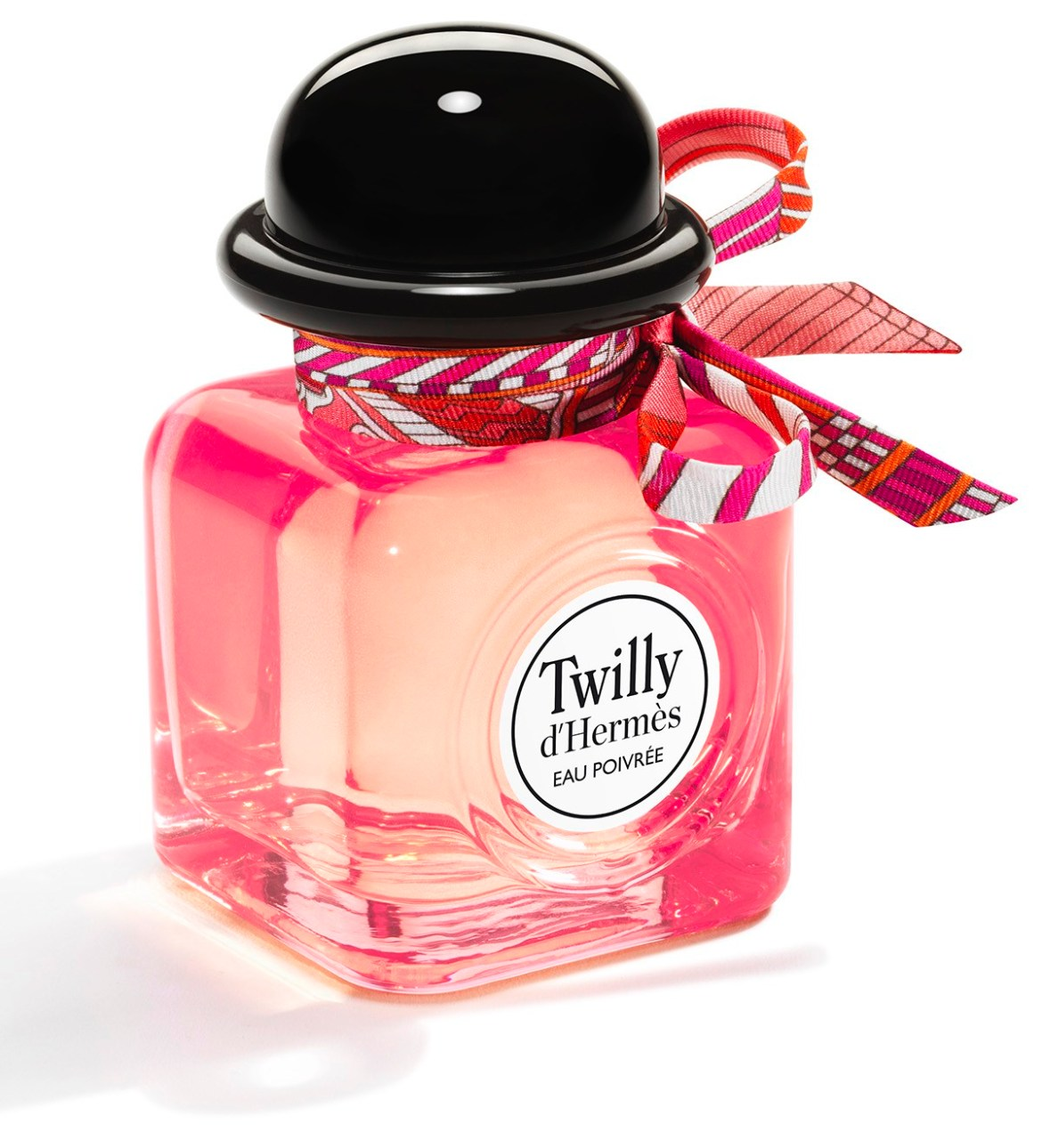 We got our hands on the new fragrance from Hermes, the Twilly Eau Poivree