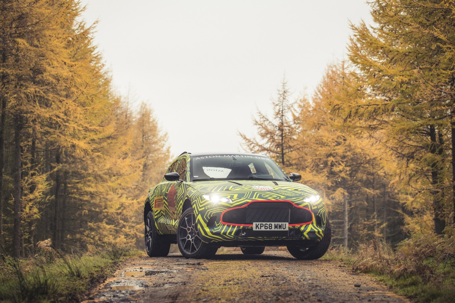 Aston Martin continues teasing DBX, its first SUV