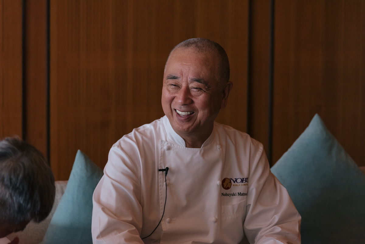 Japanese celebrity chef Nobu Matsuhisa on how to build a successful food empire