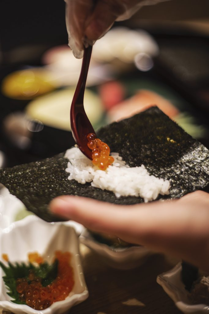 how to make your own temaki sushi