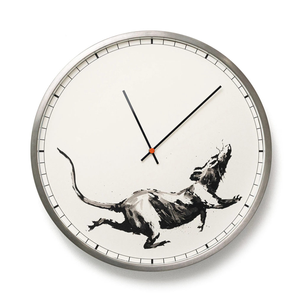 Banksy™ Clock / 50 available at £500 - Photo courtesy of GDP
