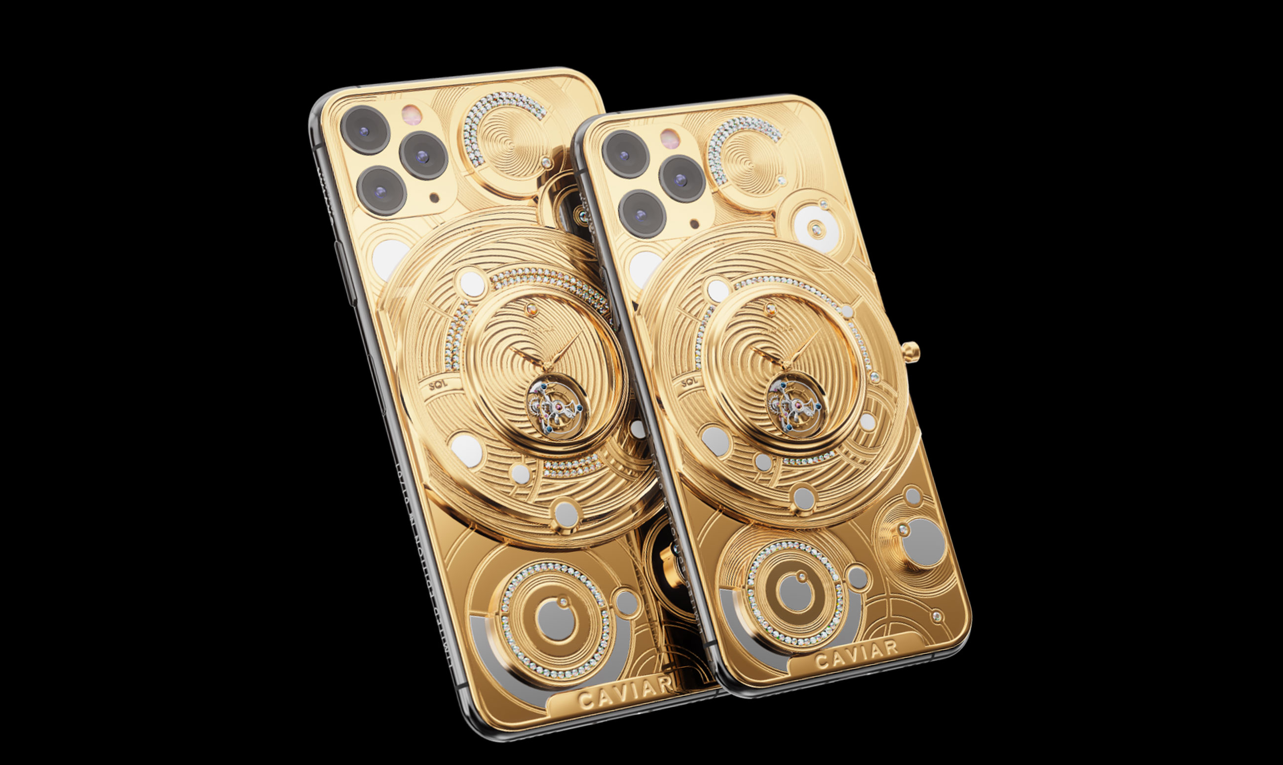 Caviar releases $70k iPhone 11 Pro featuring diamonds and 500 grams of gold