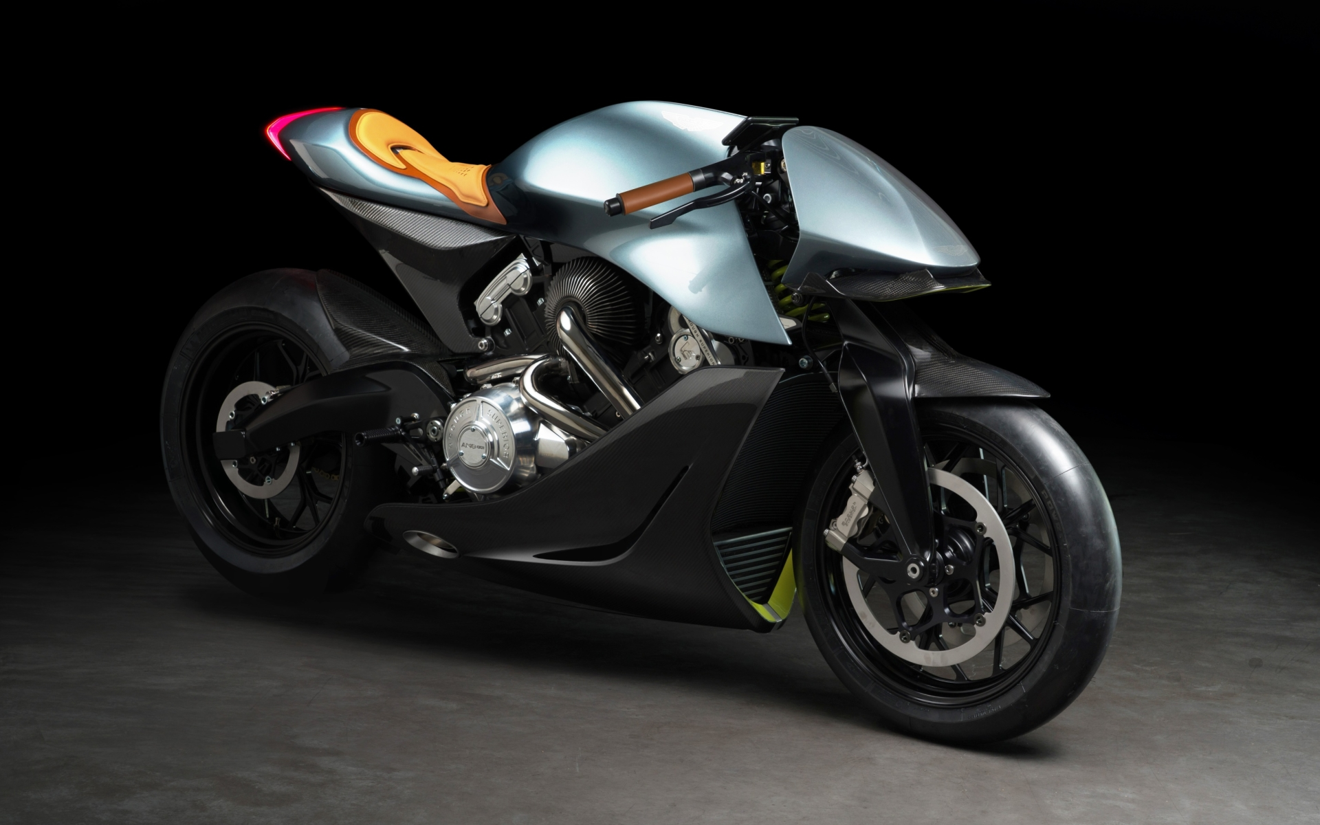 Aston Martin unveils its first-ever motorcycle AMB 001