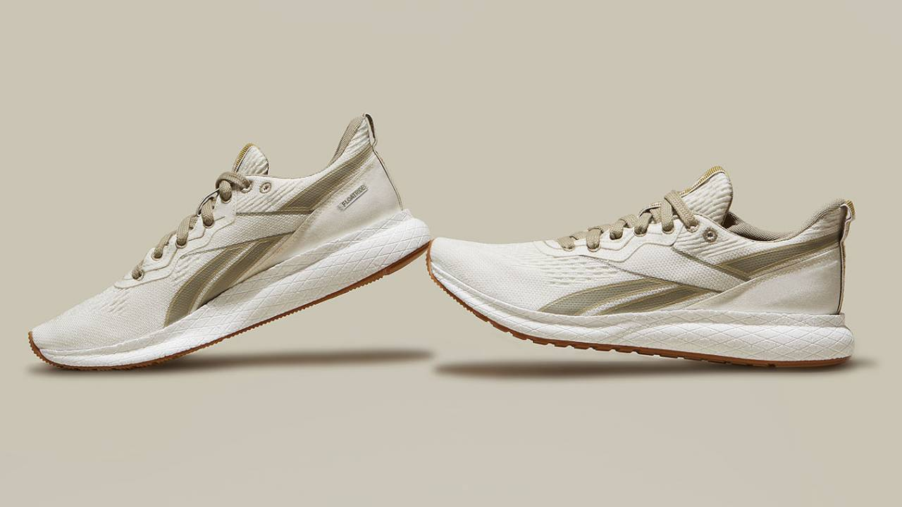 Reebok has unveiled the world's first plant-based running shoes
