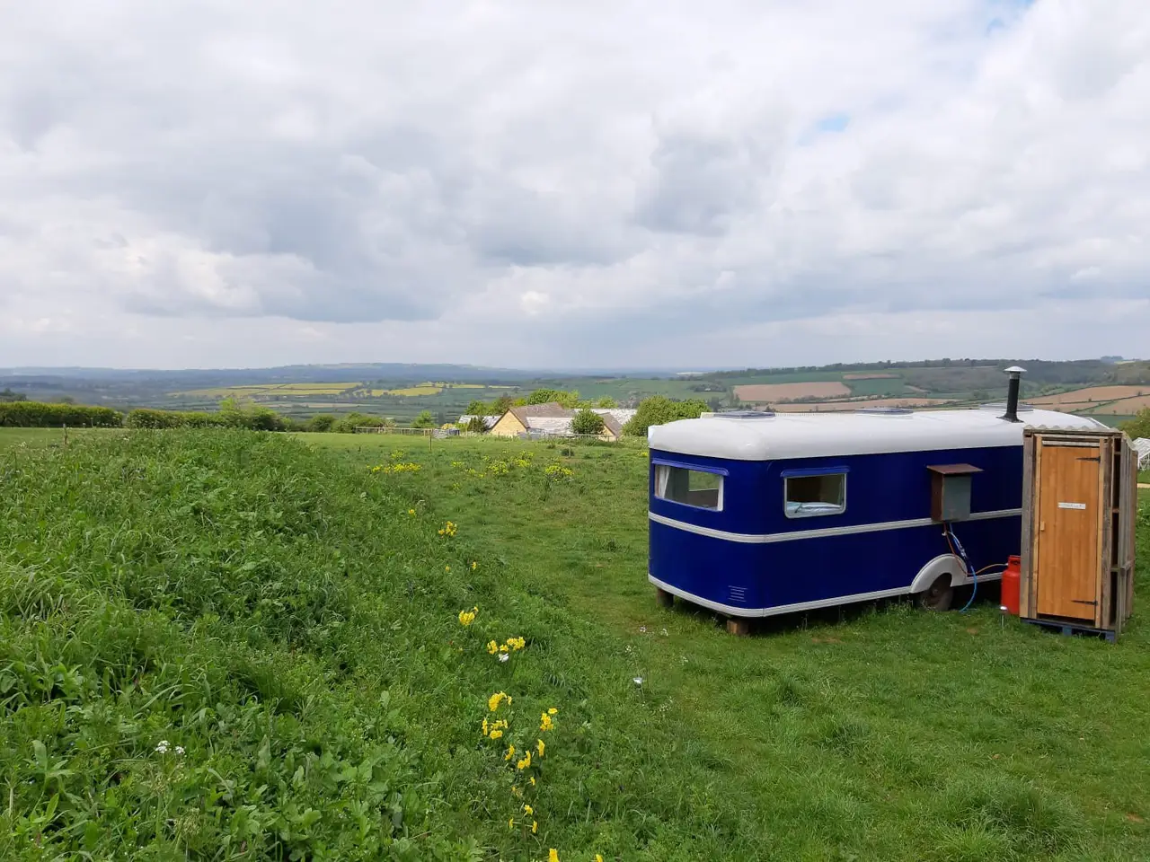 Glamping in the Cotswolds, United Kingdom