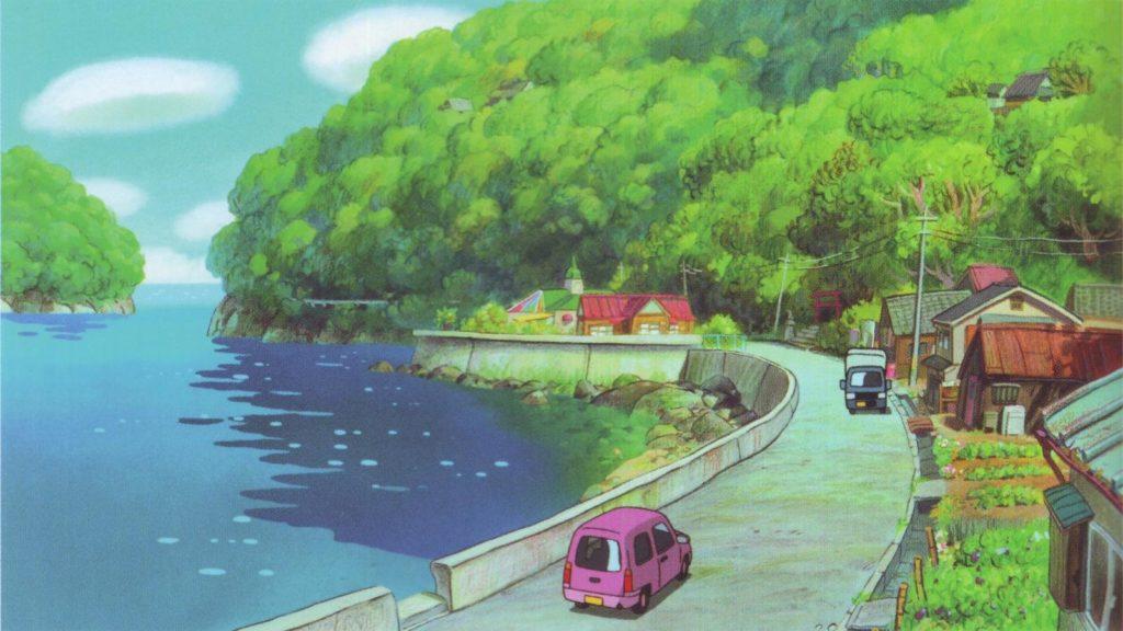 Studio Ghibli real life locations