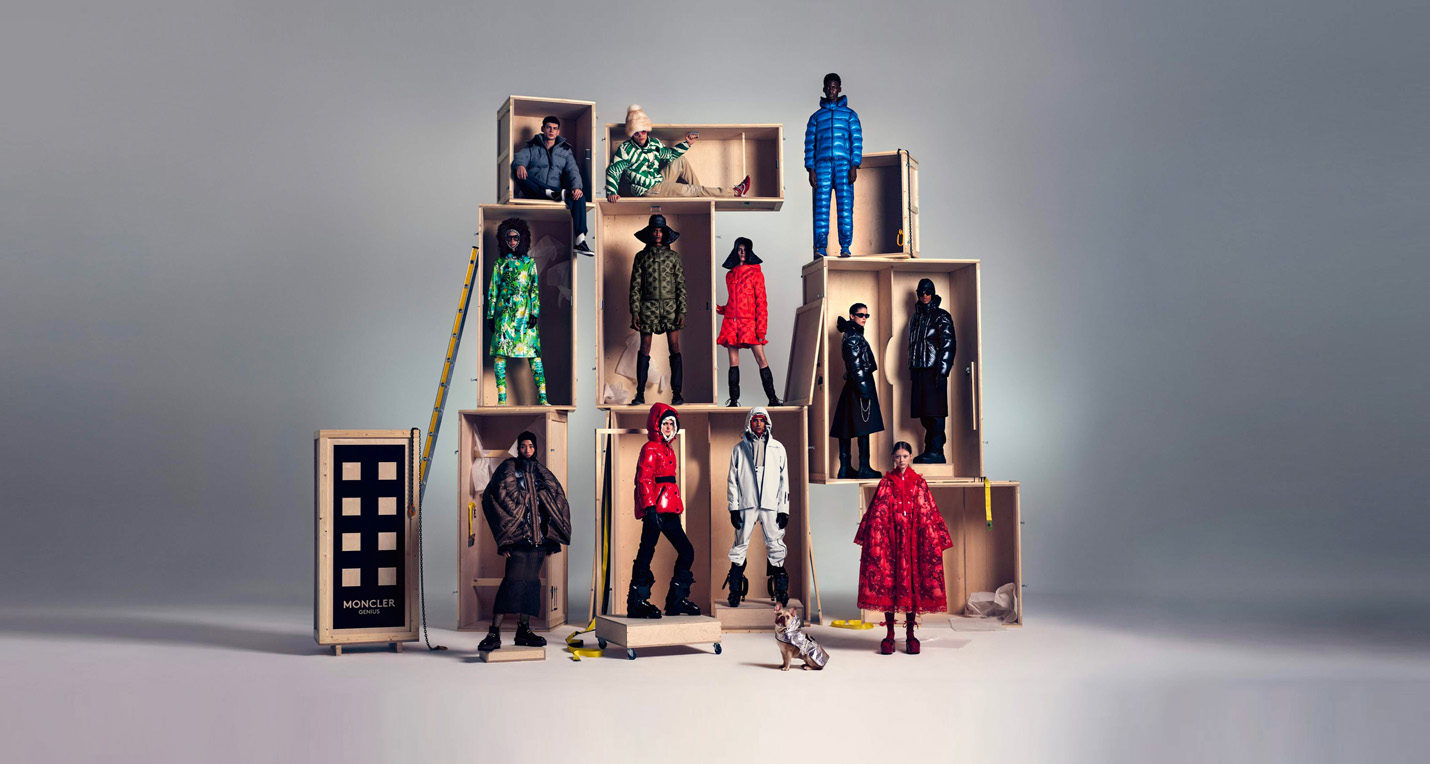 JW Anderson and Rimowa are the latest additions to the Moncler Genius creative line-up