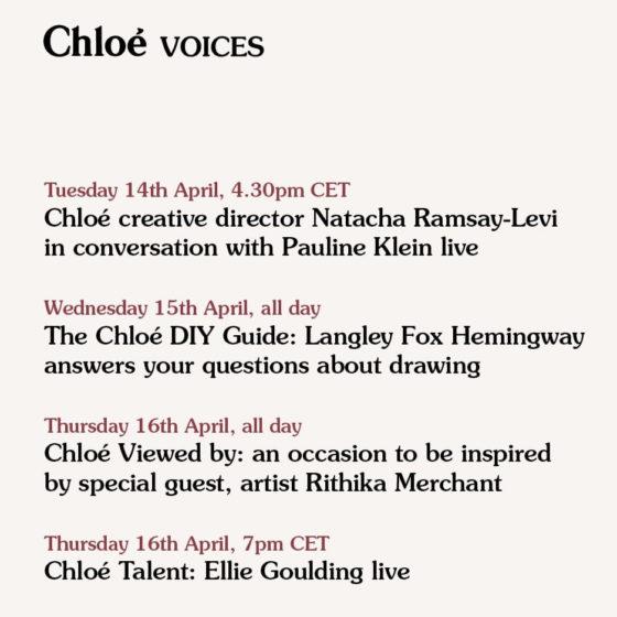 Chloé: Chloé Voices