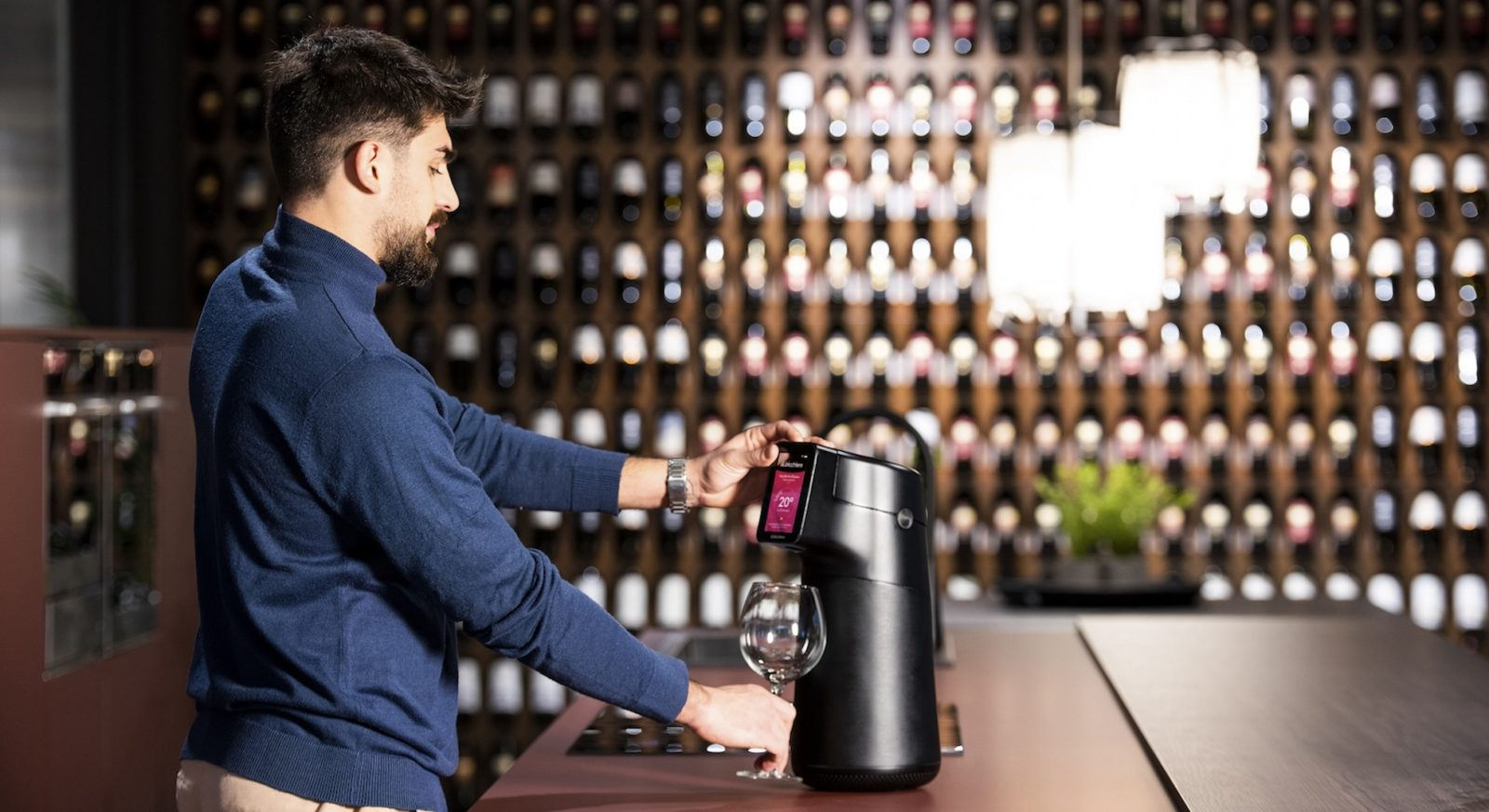 Would you use a wine dispenser that preserves your vino for up to six months?