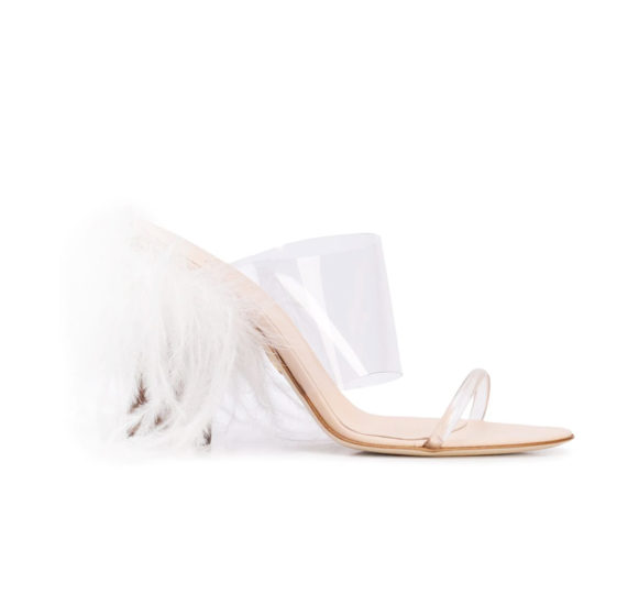 Brother Vellies: See-through strappy mule