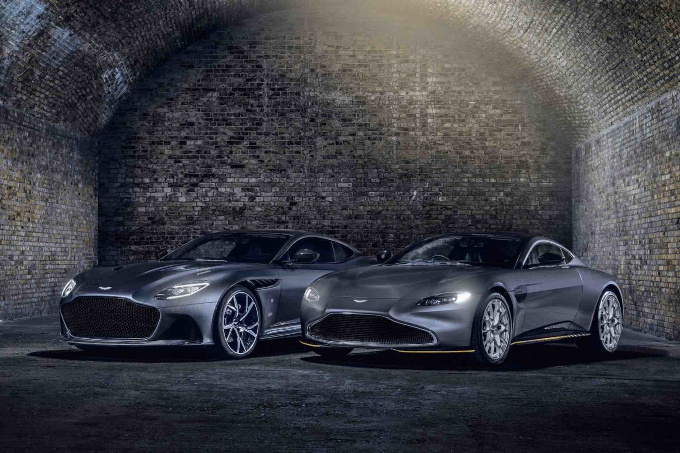Aston Martin introduces two new limited-edition models inspired by James Bond