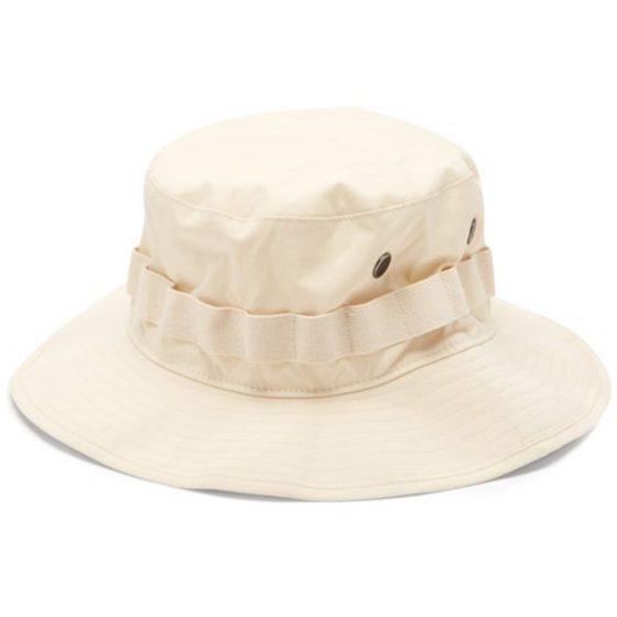 Acne Studios logo-embroidered bucket hat