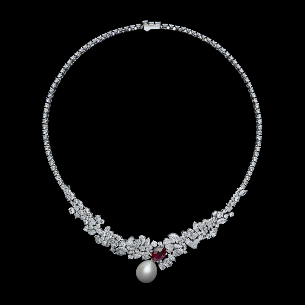 Tie and Dior high jewellery