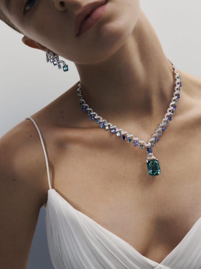 Apogée necklace and earrings (Image credit: Louis Vuitton)
