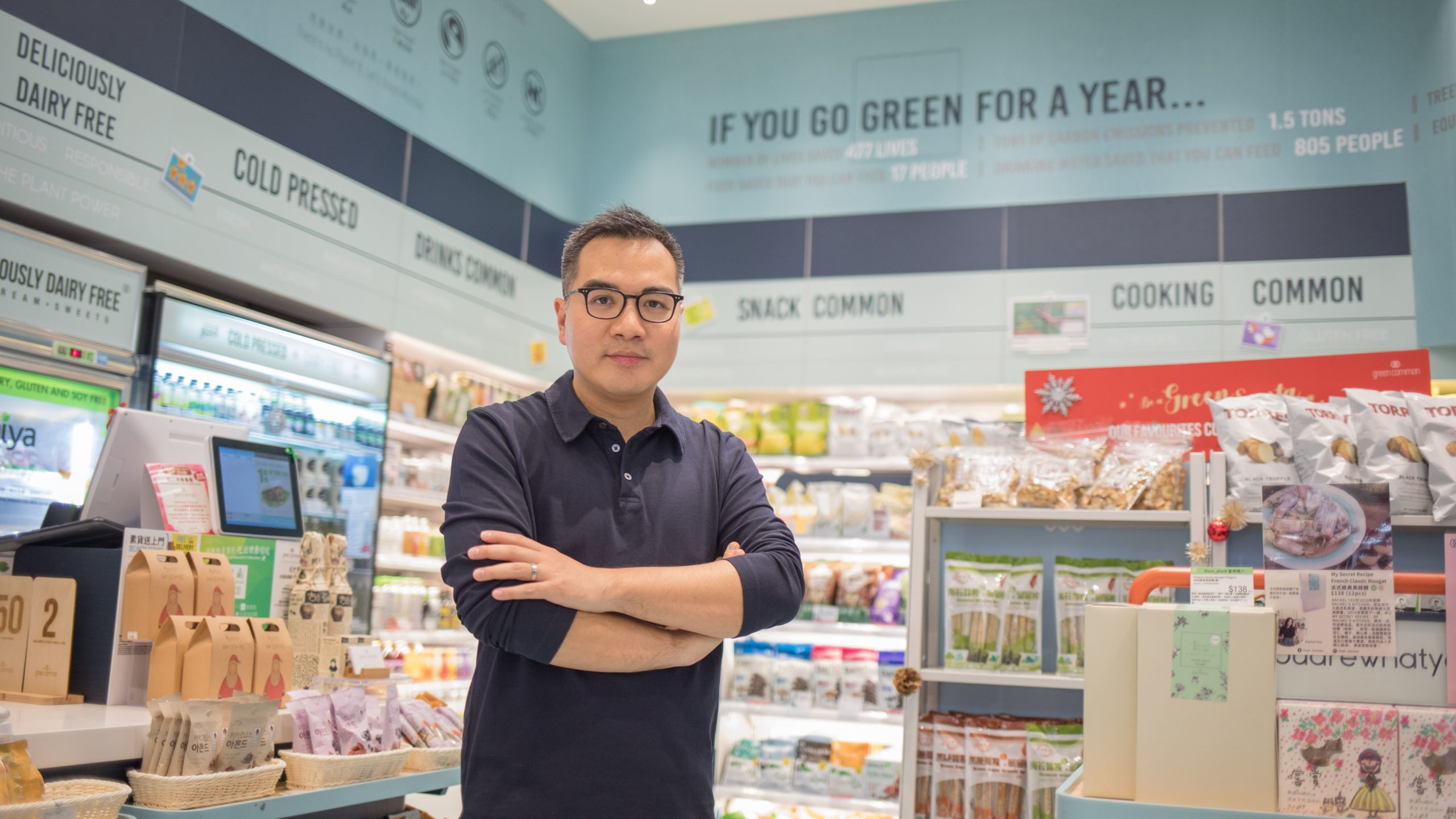27 Questions: David Yeung, founder of Green Monday
