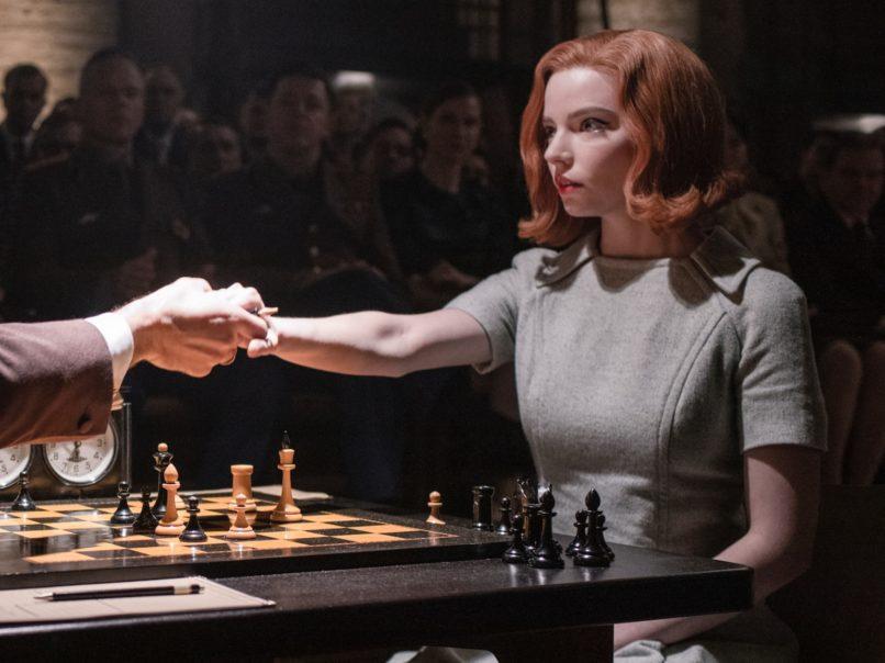 The Queen's Gambit, Beth in green
