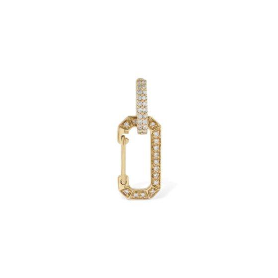 Eéra 'Chiara' diamond single earring