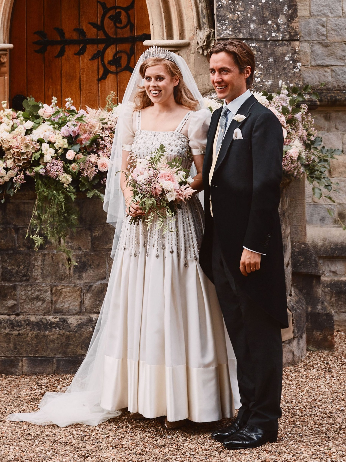 Princess Beatrice got married in a Norman Hartnell gown from 1961