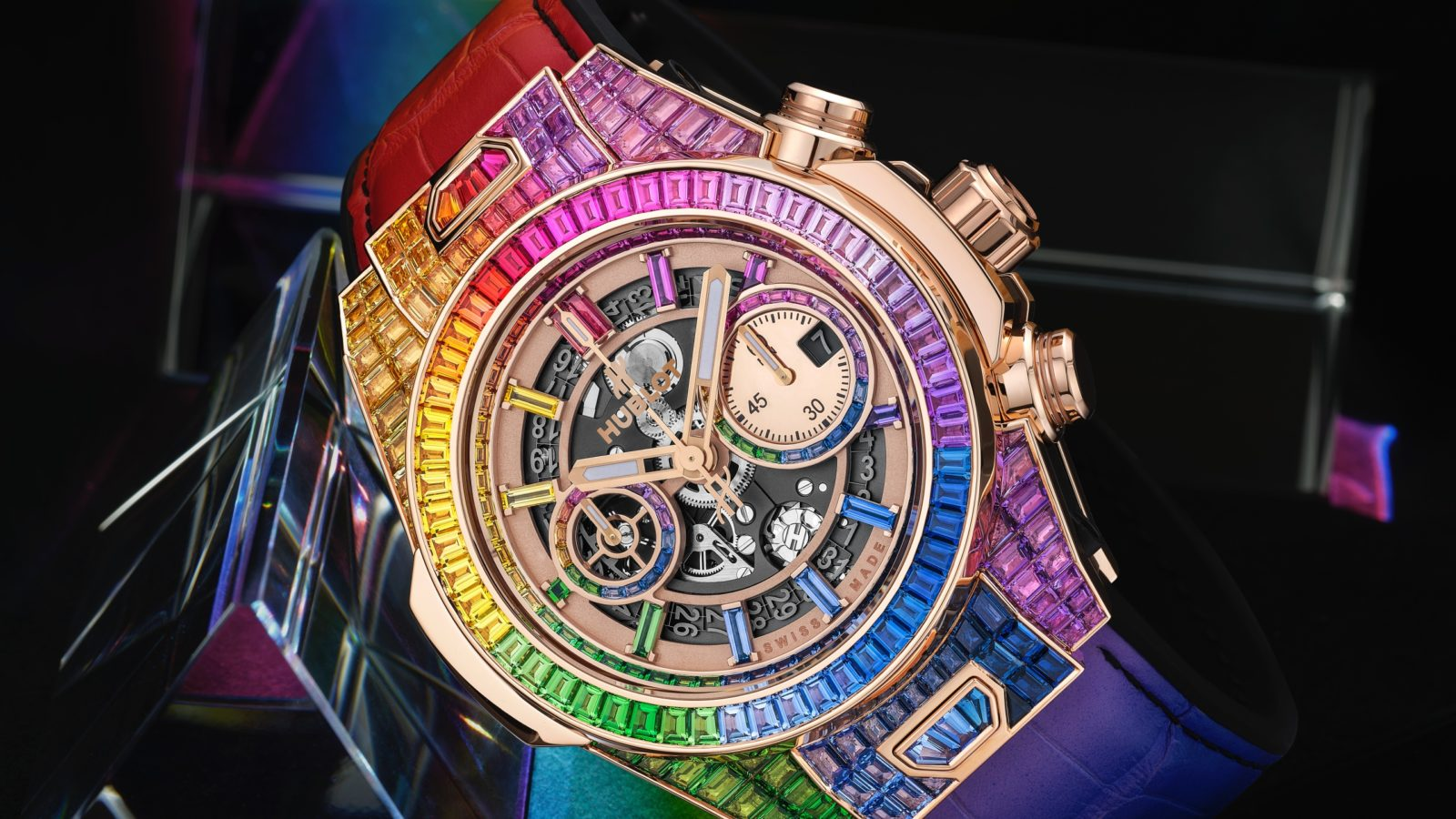 7 rainbow watches and jewellery pieces to light up your wrist in living colour
