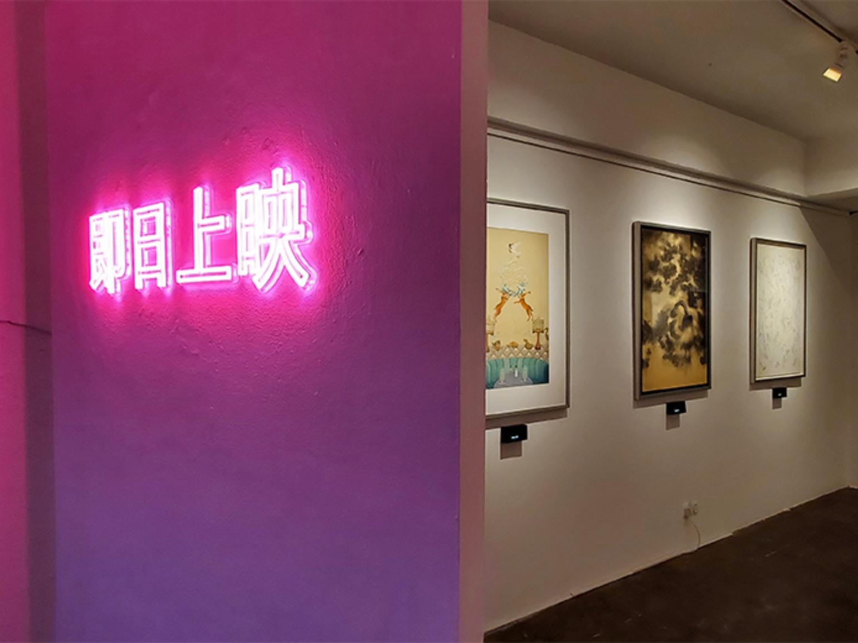 now showing Karin Weber Gallery art exhibition film