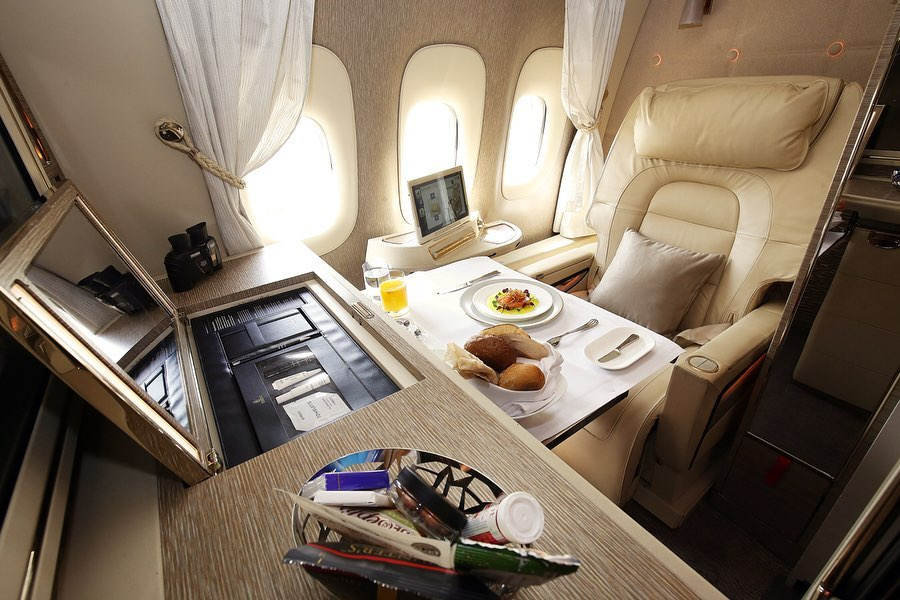 First Class Airline Emirate