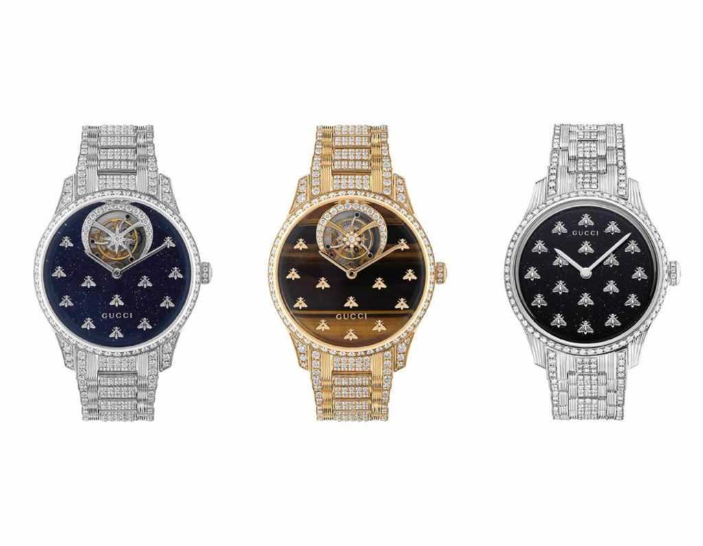 gucci dancing bees high watchmaking