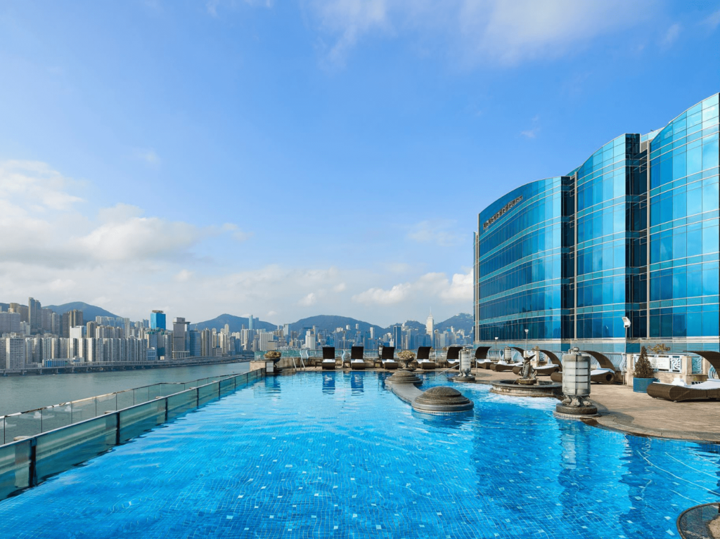 Harbour Grand Kowloon Rooftop swimming pools