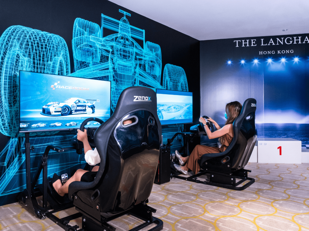 The Langham Game On VR Summer Staycation