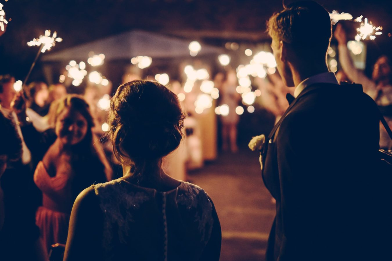 Four ways to make your formal wedding feel easygoing for your guests