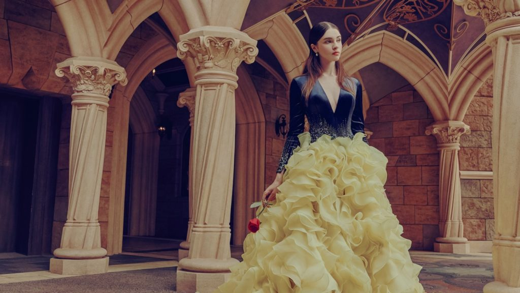 Dress like your favourite Disney princess in these stunning Sennet Frères designs