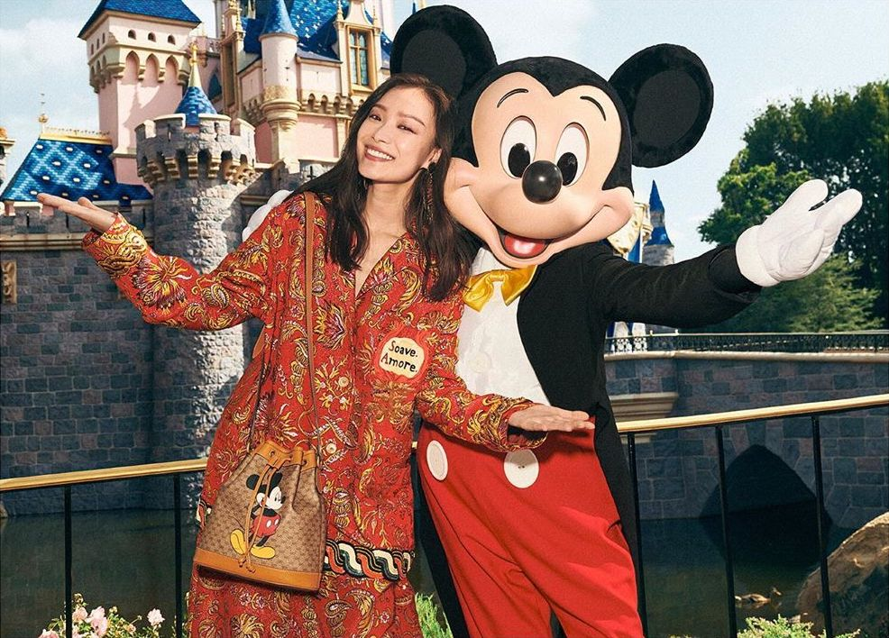 Year of the rat, spirit animal, 2020, Gucci, Mickey Mouse