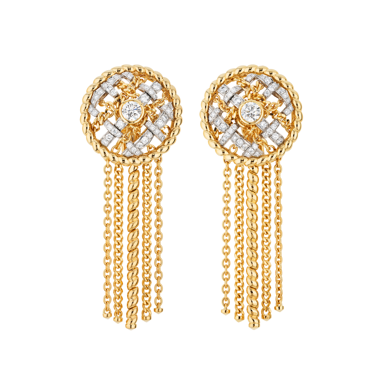Tweed Cordage Earrings (Photo credit: Chanel)