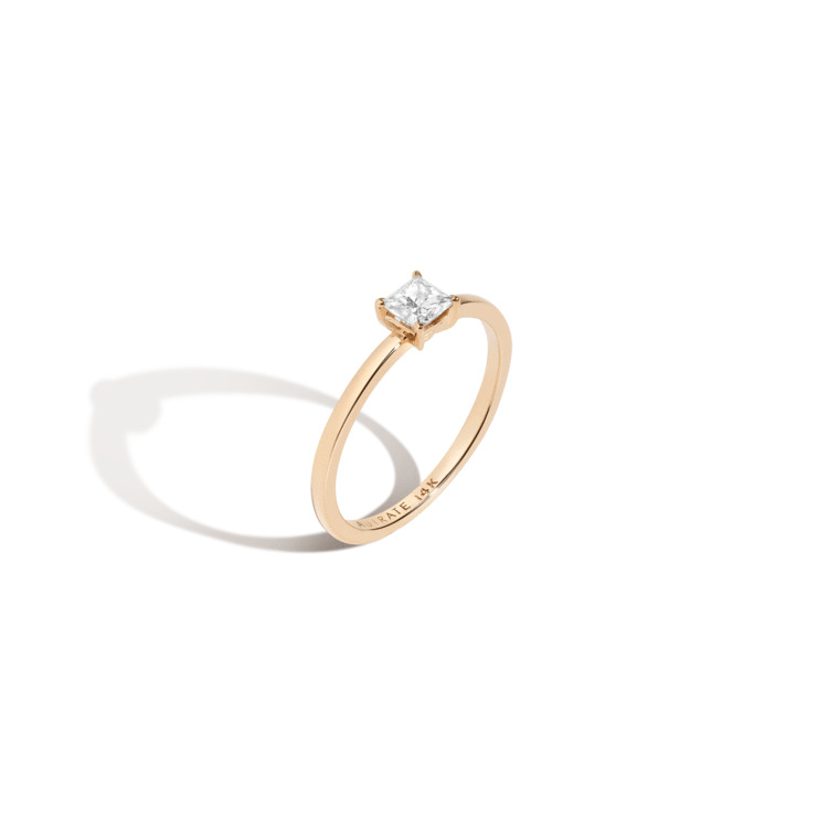 Large Diamond Solitaire ring, AUrate New York (Photo credit: AUrate New York)
