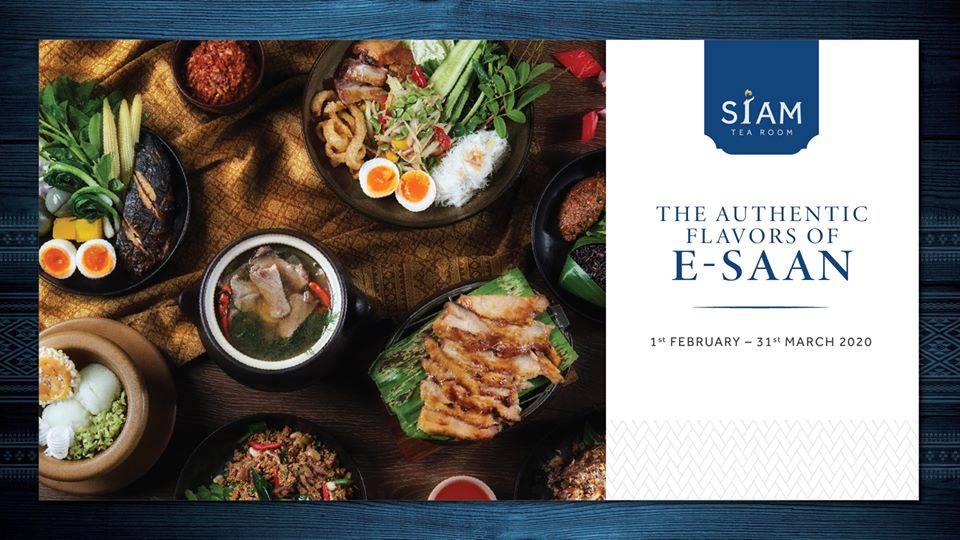 The Authentic Flavors of E-Saan at Siam Tea Room