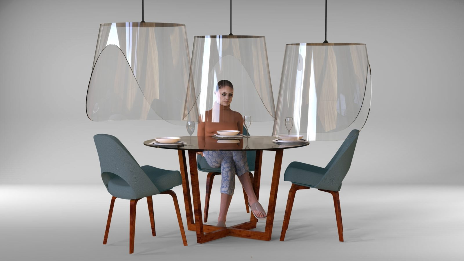 What the future of restaurant design could look like post-pandemic