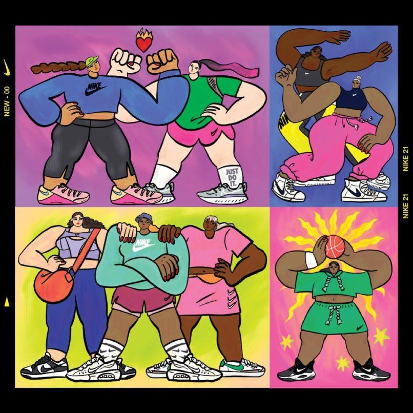 Ping Hatta for Nike artwork