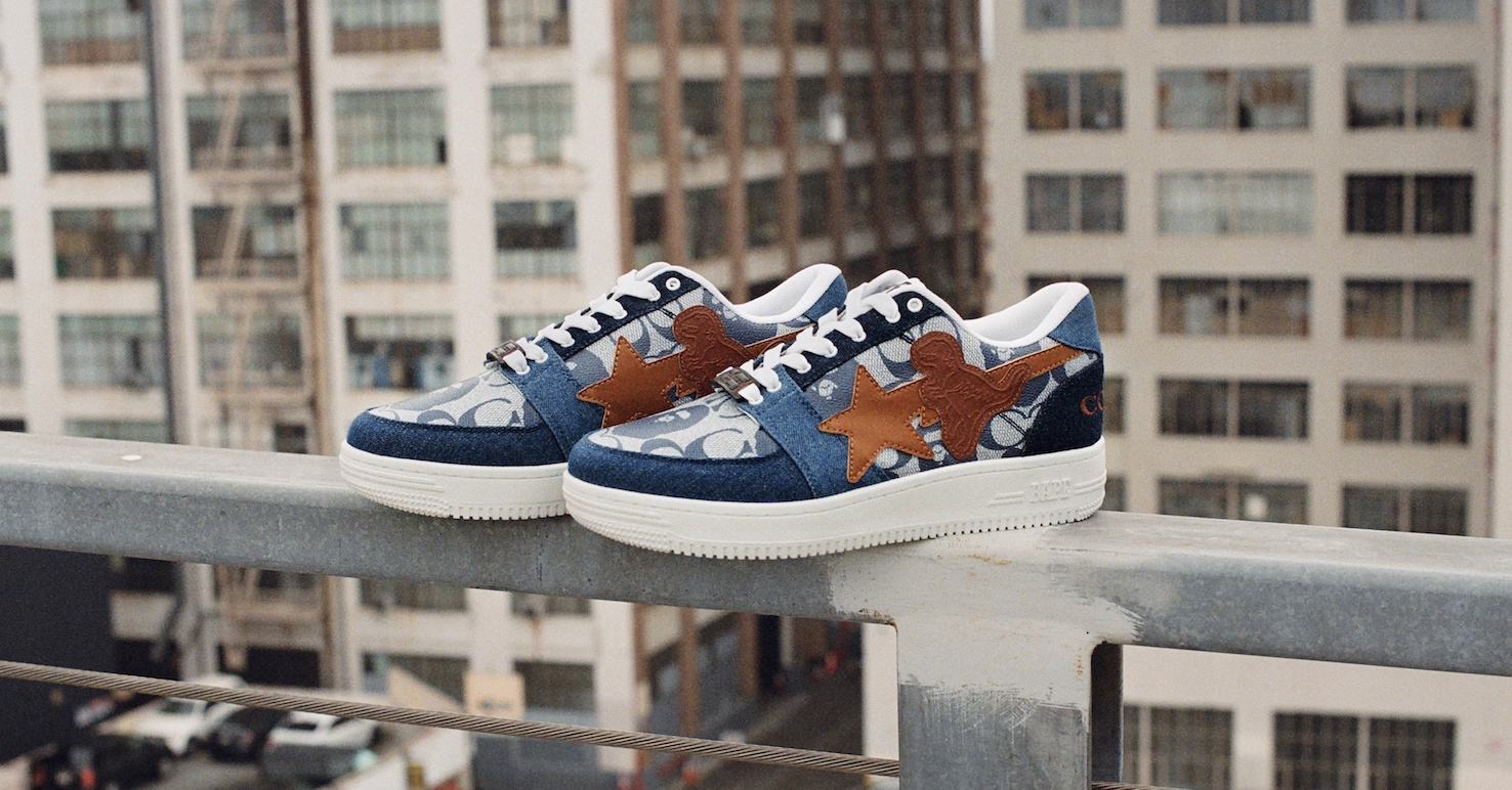 First look: the Coach x Bape STA sneakers launching this week