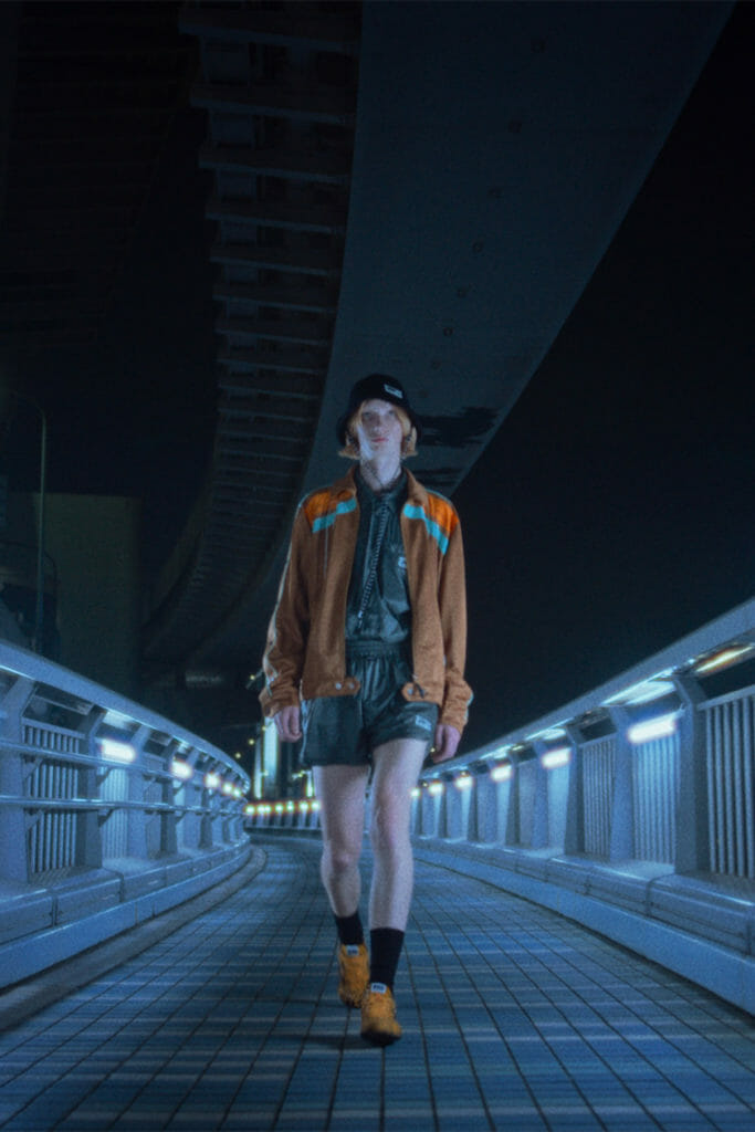 Image of models in Onitsuka Tiger outfits for Onitsuka Tiger Spring/Summer 2022 collection article
