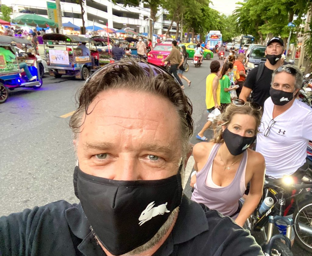 An itinerary for Russell Crowe in Bangkok, based on his best movies